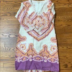 JCrew  linen cover up/dress